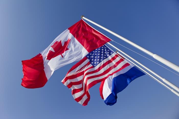 Langues possibles français, anglais, canada, états-unis